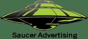 Saucer Advertising Logo