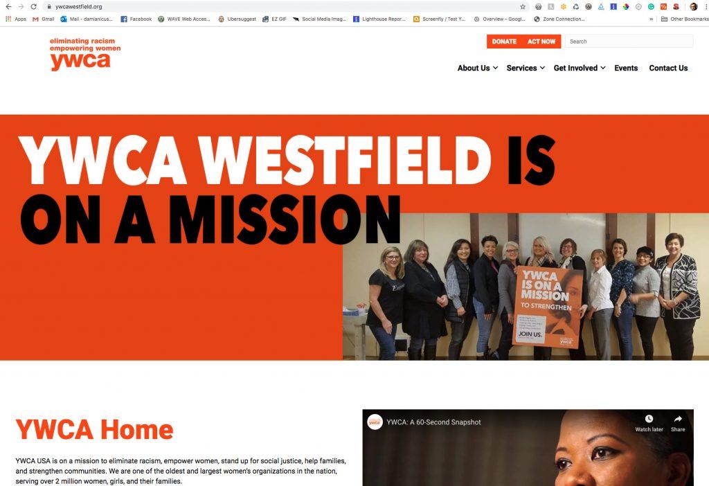 Saucer Advertising YWCA Westfield